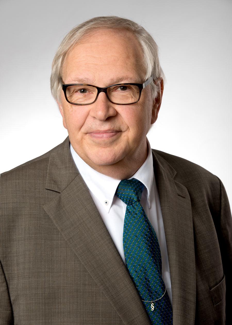 Dr. Klaus Rottmann Portrait